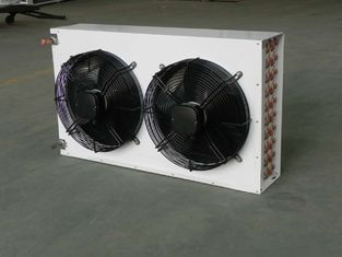 220V / 380V Refrigeration Controls Double Fan V Type Dual Fans Condensers KW604A3-LN