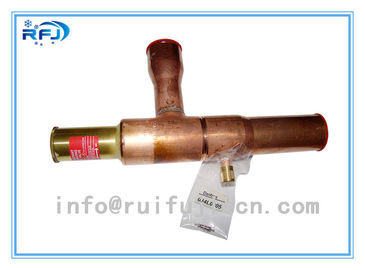 Cina KVL series Refrigeration parts Brass Crankcase Pressure Regulator Refrigeration Controls Untuk Restoran / Supermarket Distributor