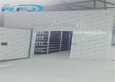 Cina Cold Storage Industrial Cold Room 30-45kg / m3 PU Foam Density Pemasangan Mudah Distributor